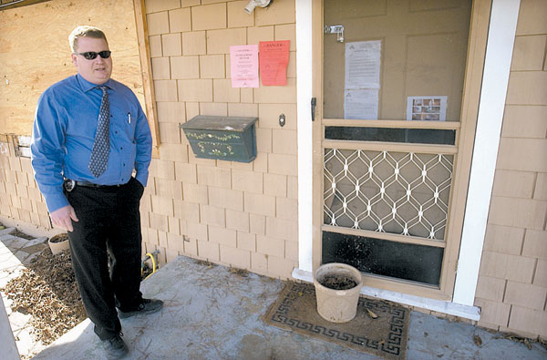 Vacant homes a nuisance; Foreclosed, abandoned homes becoming havens for criminal activity