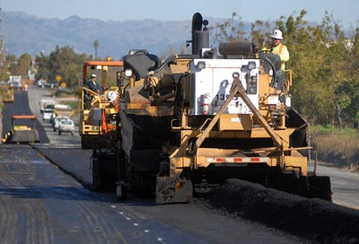Southside Road gets paved with stimulus funds