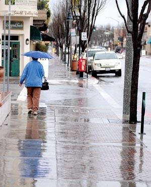 Rain likely late tonight, Wednesday