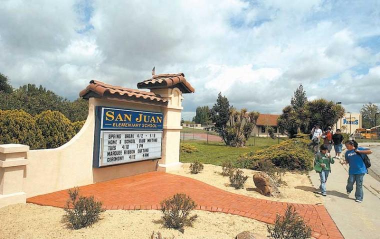 Fault work spurs funding shakeup at San Juan School