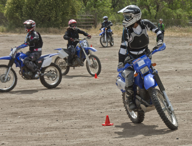 Group rides in Hollister Hills for a cure