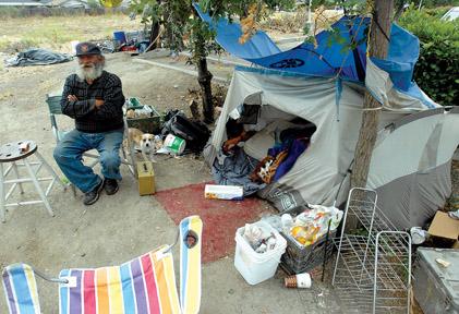 Homeless get new homes through local program