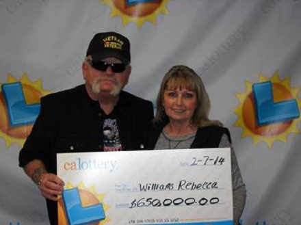 Hollister couple wins $650K from scratch-off lottery game
