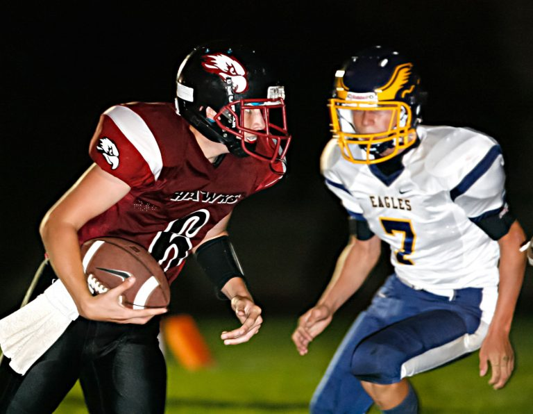 Anzar muscles past Alma Heights, 56-14