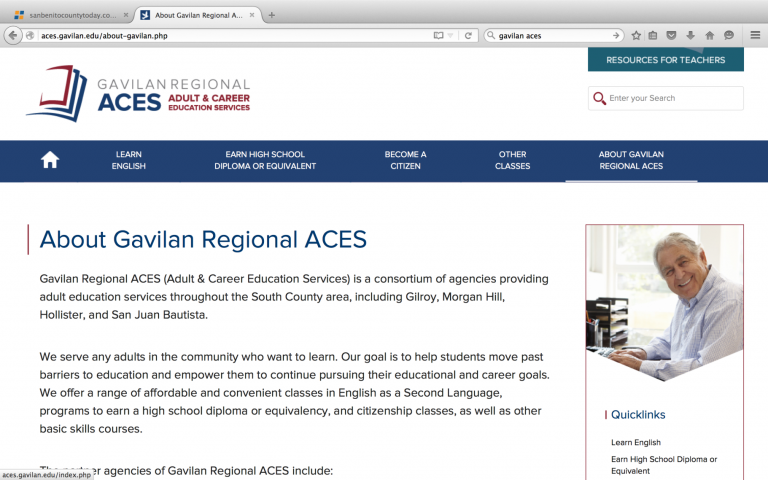 Gavilan website helps adult learners find what they need
