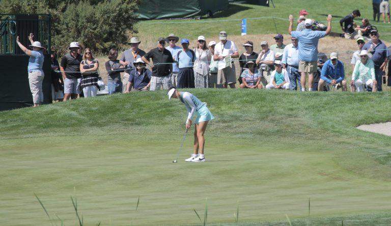 U.S. Women's Open Day 2: Korean trio tops second-round leaderboard