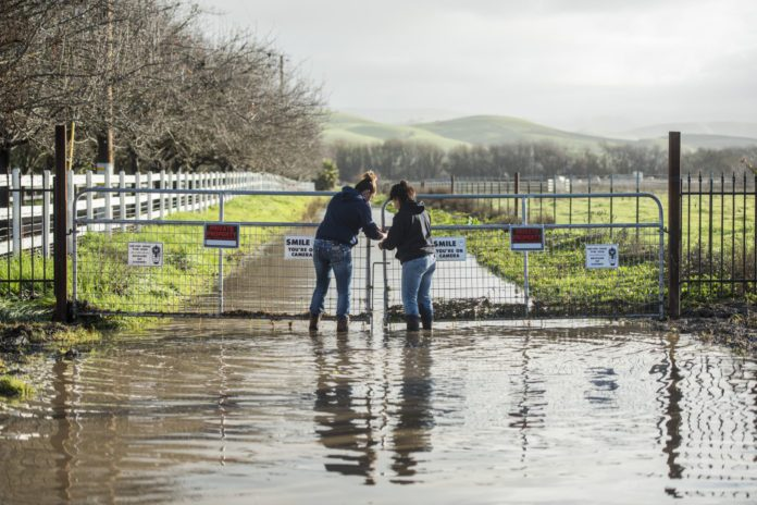 Rainfall totals keep climbing in wet winter for county